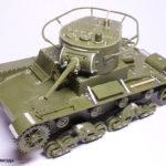 Сборная модель танка Т-26, Звезда, 1/35. Перед покраской