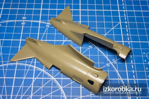 И-16 тип 17 детали фюзеляжа