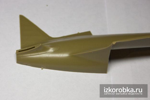 И-16 тип 17 сколы на деталях фюзеляжа