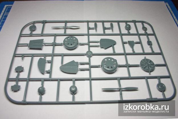 И-16 тип 17 варианты кожухов двигателя и защиты винта