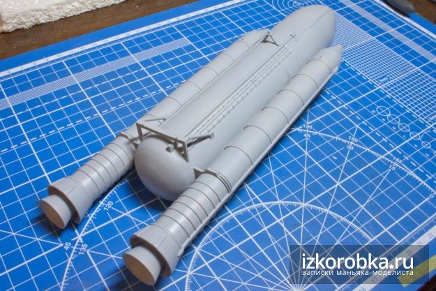 Space Shuttle Buster 1/200 Hasegawa