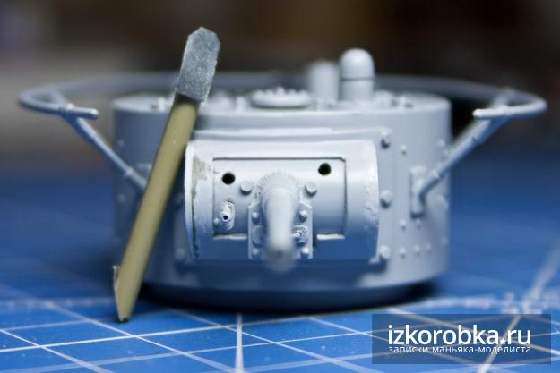 Сборная модель танка т-26. Самодельный инструмент для шкурения