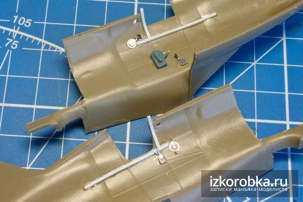 и-16 тип-17 кабина дополнительные ребра жесткости