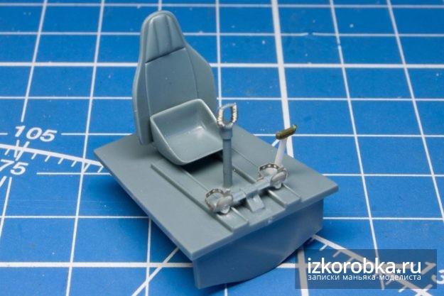 и-16 тип-17 кабина доработки элементов управления