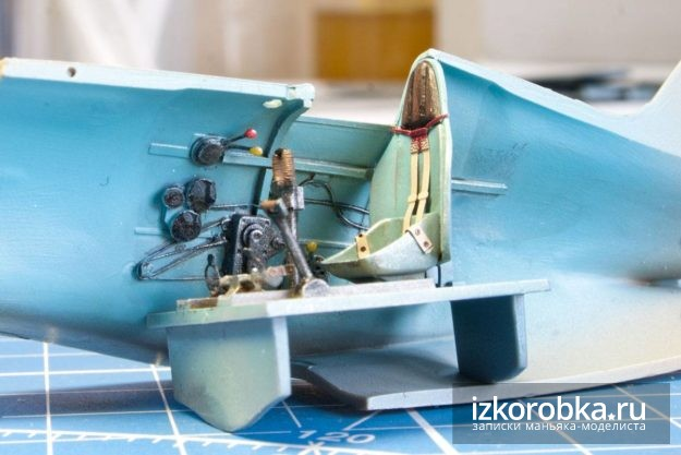 и-16 тип-17 кабина окраска и везеринг