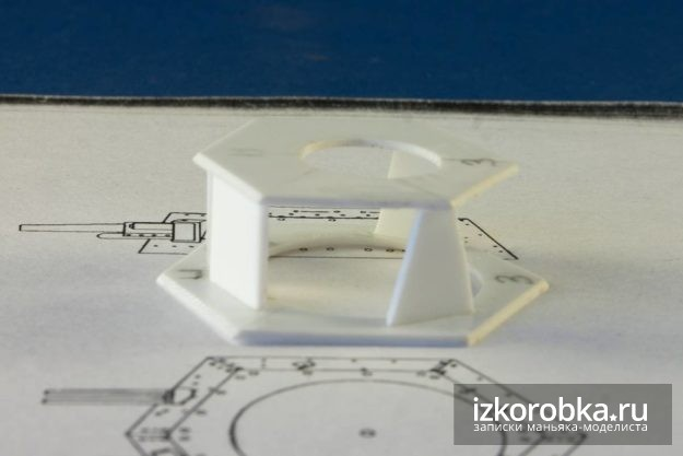 Башня Т-18 МС-1. Изготовление башни