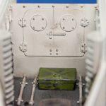 Окраска отсека экипажа танка Т-18 МС-1