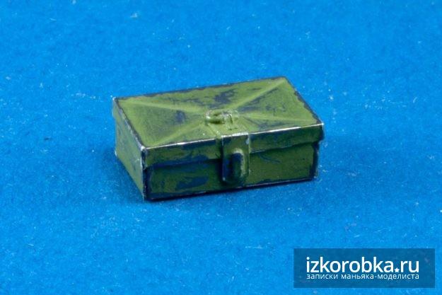 Инструментальный ящик танк Т-18 МС-1