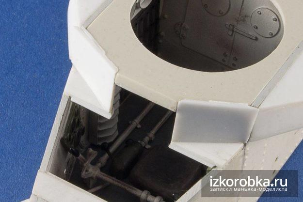Передние броне-листы танка Т-18 МС-1. Примерка