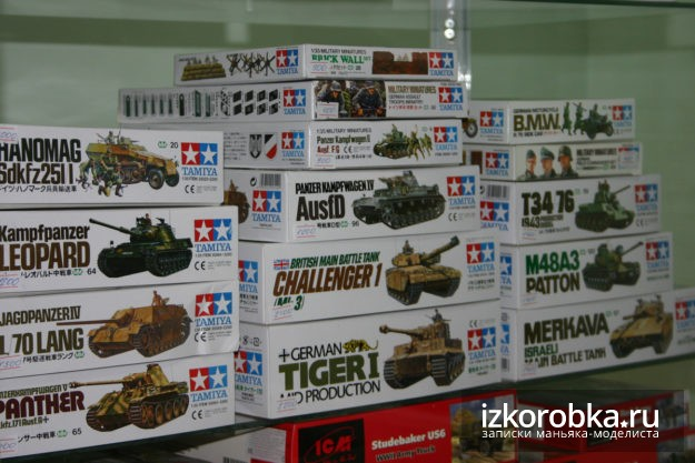 Модели танков Tamiya, 1:35