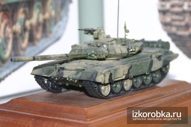 Модель танка T-90, 1:72
