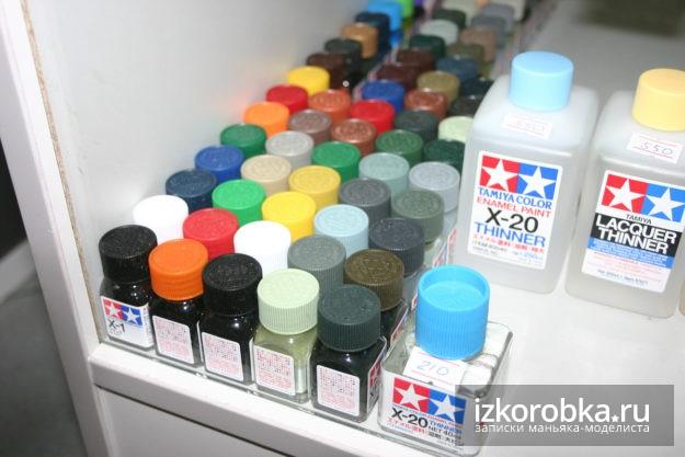 Краски Tamiya эмаль