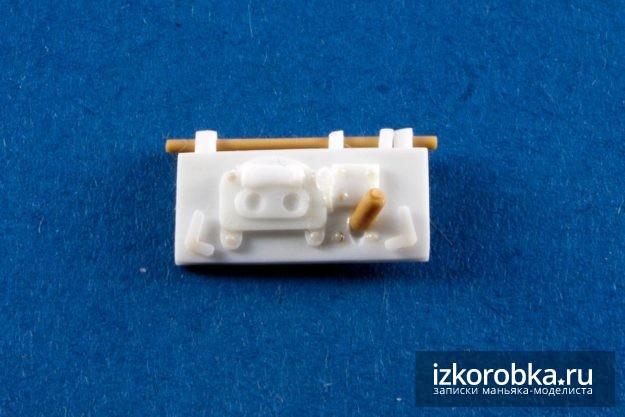 Танк Т-18 МС. Верхняя створка люка мехвода всборе