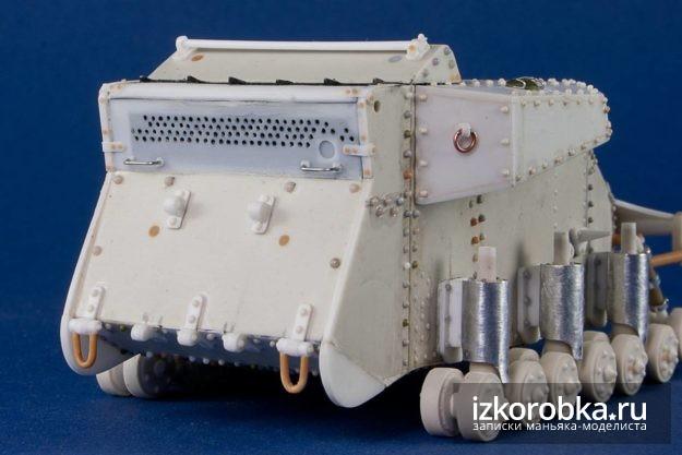 Танк Т-18 МС-1 вид сзади