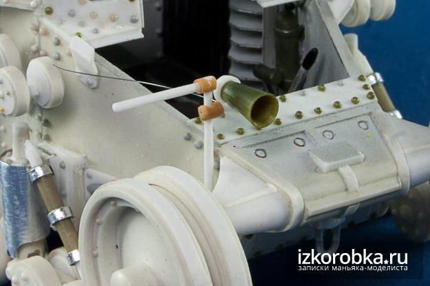 Крепление гудка танка Т-18 МС-1