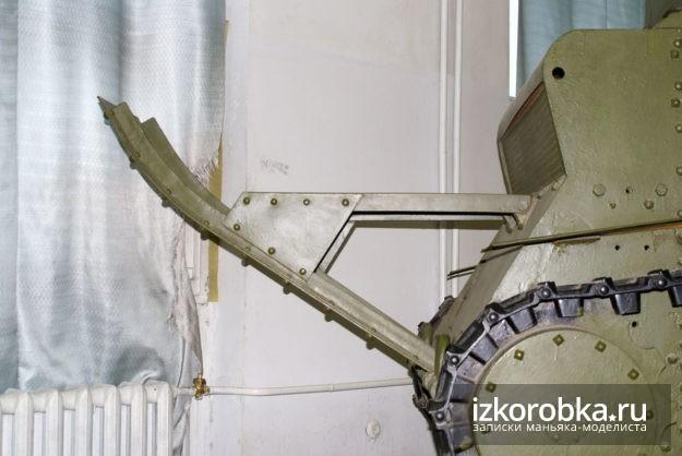 Окопная лыжа танка Т-18 МС-1. Реконструкция. Музей Верхняя Пышма