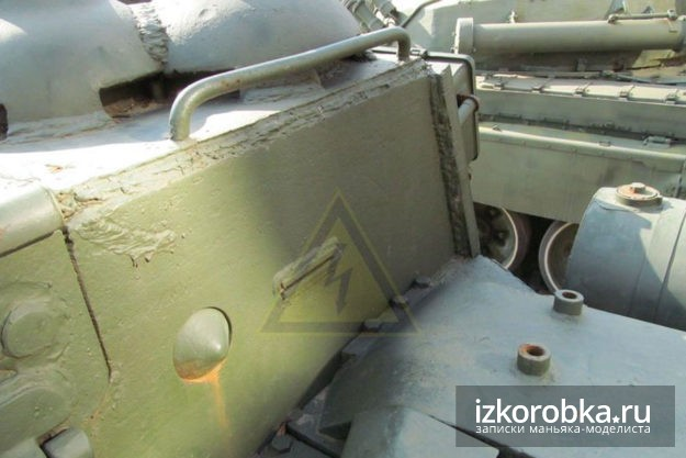 Модель СУ-100 Поздний стык боковой и задней стенки рубки СУ-100 Белгород