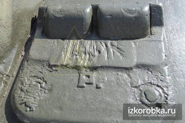 Люк механика водителя СУ-100