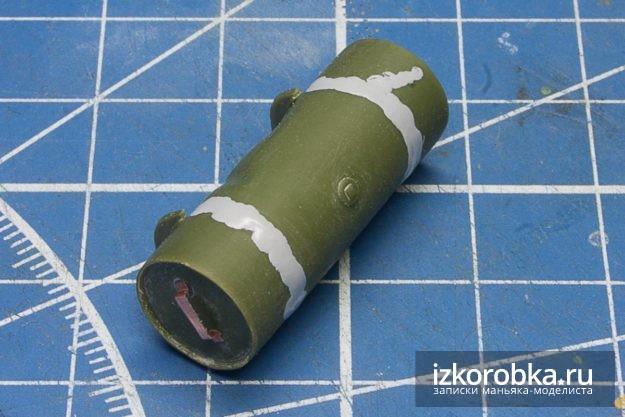 СУ-100. Доработка топливного бака