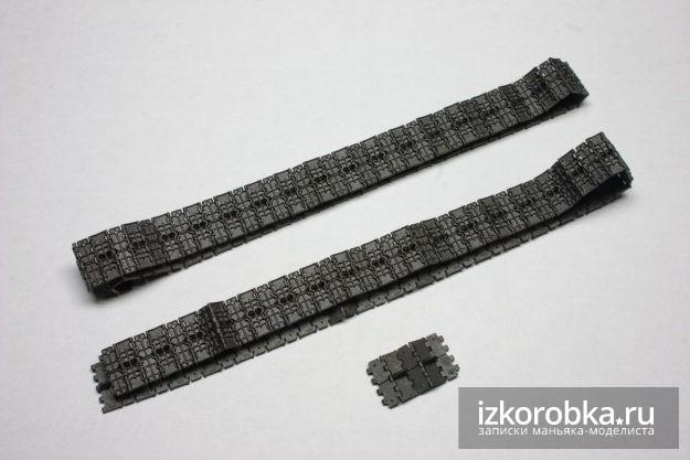 Собранные траки MASTERCLUB для СУ-100