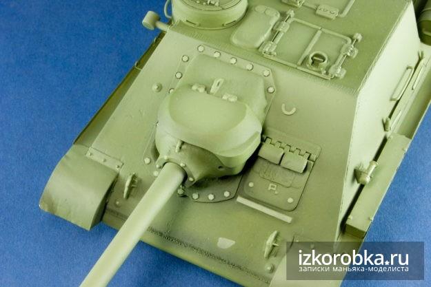 СУ-100 Звезда 1/35 цветовая модуляция