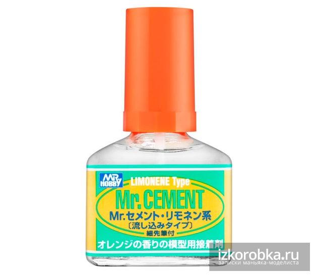 Клей Gunze sangyo Mr. hobby Mr. Cement LIMONENE