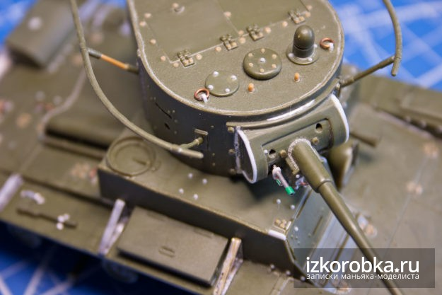 Сборная модель танка Т-26, 1/35, Звезда