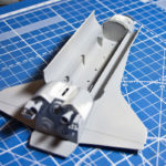 Space shuttle orbiter with boosters, Hasegawa, 1/200