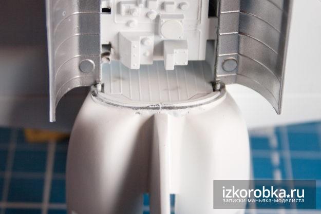Space Suttle Orbiter Hasegawa - выявленные косяки