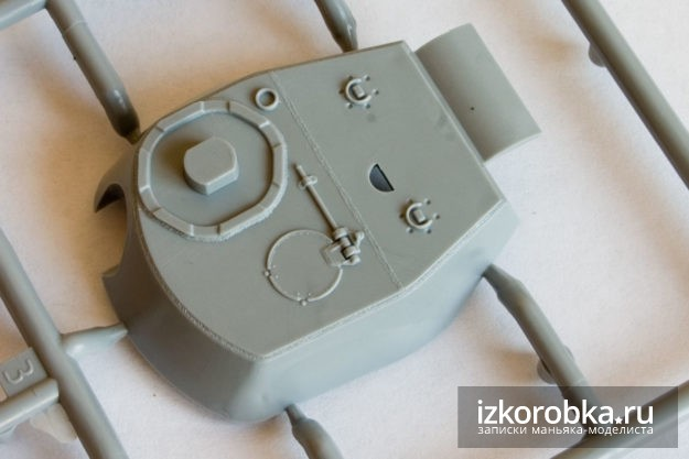 Башня. Сборная модель танка ИС-2, масштаб 1/72