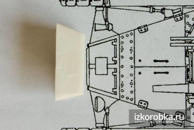 Танк Т-18 МС-1. Первая примерка к чертежам