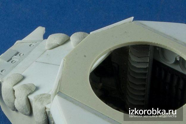 Передние броне-листы танка Т-18 МС-1
