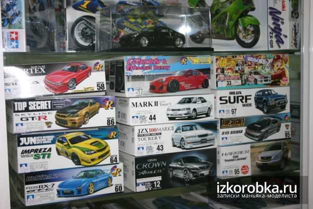 Масштабные модели автомобилей 1:24