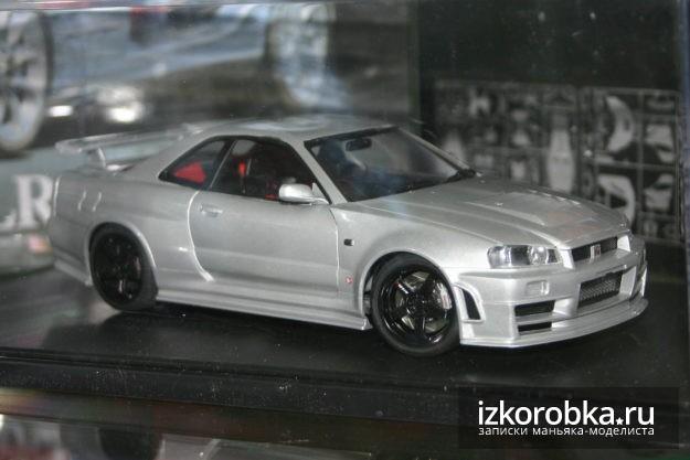Модель Nissan Skyline Nismo Z-Tune GT-R R34