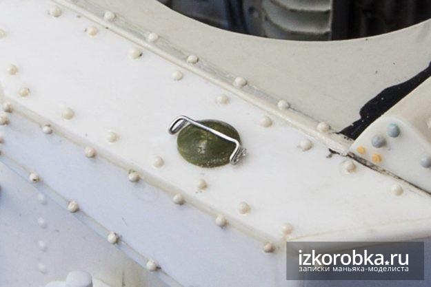 Лючок бензобака танка Т-18