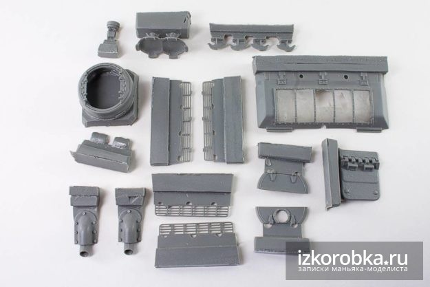 Комплект ЗИП 35060 Внешние детали для СУ-100, СУ-85М