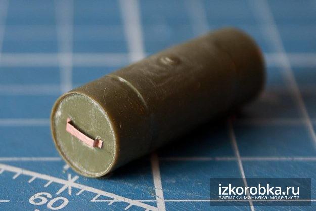 СУ-100. Ручки на топливном баке