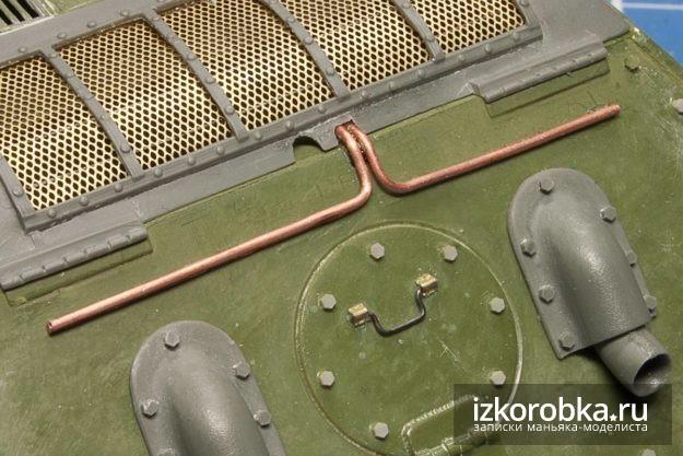 СУ-100. Электрический стартер