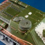 СУ-100. После сборки перед покраской