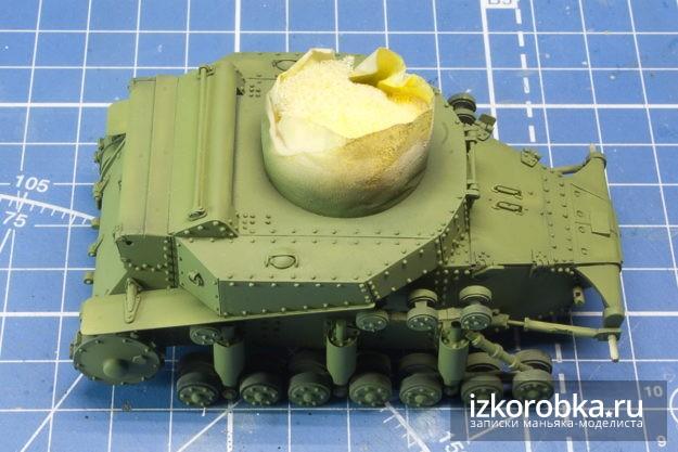 Модель танка Т-18 МС-1. Базовый 4БО