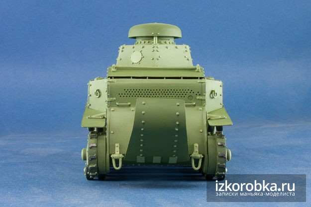 Цветовая модуляция модель танка Т-18 МС-1