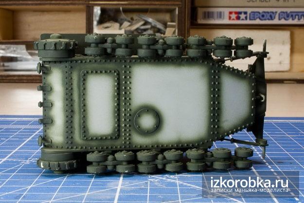 Техника прешейдинга. Т-18 МС-1