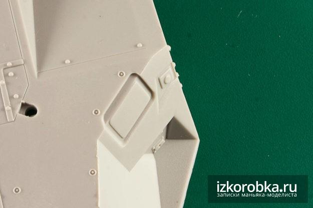 """Упрощения на башне Т-14 """"Армата"""", ARK models 1:35"""